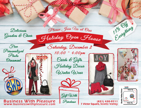 BWP Holiday Open House Ad